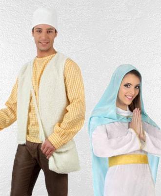 Disfraces de Pastores y Belen para Navidad