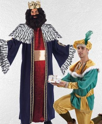 Disfraces de Reyes magos y Pajes Reales para Navidad