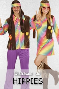 Disfraces Hippies
