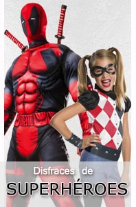 Disfraces de superheroes