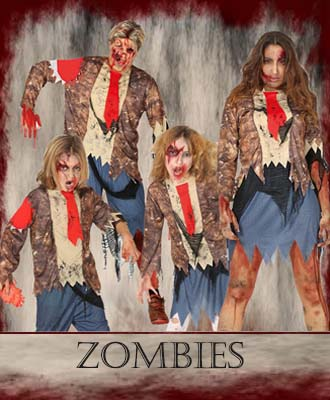 Disfraces para Halloween 2020 de Zombies